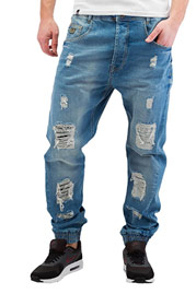 WHO SHOT YA  Axel  Antifit Jeans Light Blue Denim auf oboy.de