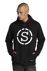 WHO SHOT YA  Quilted Hoody Black auf oboy.de