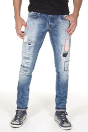 2Y Patches Jeans Light Blue auf oboy.de