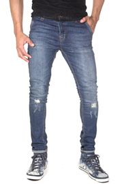 2Y Used Jeans Dark Blue auf oboy.de