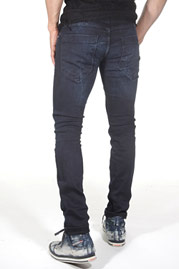 2Y Used-Fit Jeans Dark Blue auf oboy.de