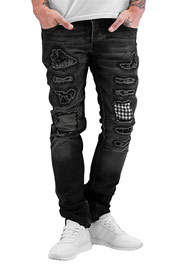 2Y Patch Jeans Grey auf oboy.de