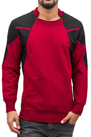2Y Hérault Sweatshirt Red/Black auf oboy.de