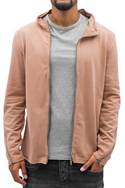 2Y Sweat Jacket Brown auf oboy.de