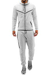 2Y Jace Sweat Suit White auf oboy.de