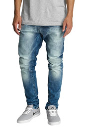 2Y Kiel Slim Fit Jeans Denim Blue auf oboy.de