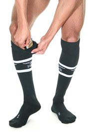 MISTER B URBAN Football Socks with Pocket auf oboy.de